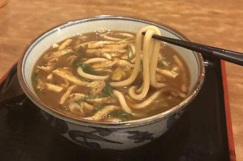 Age curry udon
